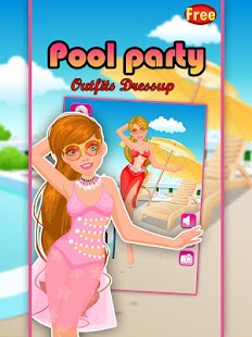 Pool Party DressUp - screenshot