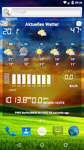 Wetterstation Screenshot