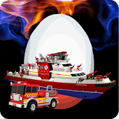 Game Rescue Fire Truck Surprise Egg APK for Kindle