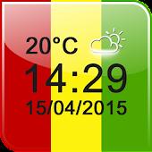 Free Ganja Weed Digital Clock APK for Windows 8