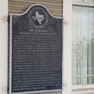 Early meetings of the Woman's Reading Club, now the Woman's Club of Beaumont, were conducted in area homes, churches, and public buildings until 1909, when this two-story frame clubhouse was built. ...