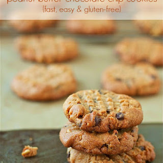 Peanut Butter Chocolate Chip Cookies (Gluten-Free)