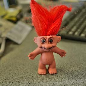 The Troll by Bradley Bath - Artistic Objects Toys