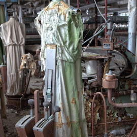 All dressed up and no where to go by Deborah Felmey - Uncategorized All Uncategorized ( rust, abandon, left, decay, abandoned, patuxent,  )