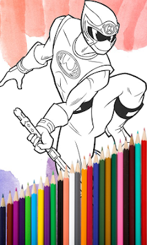 Superhero Coloring Book 2017 APK Screenshot Thumbnail 3