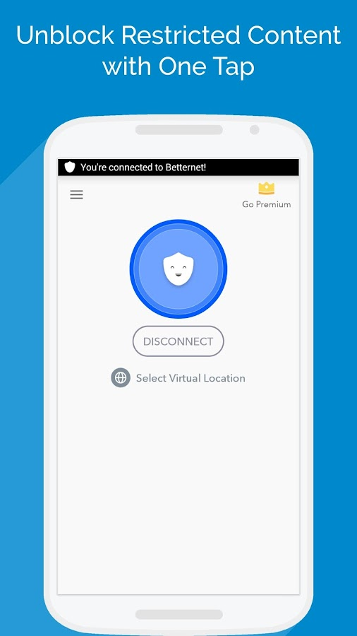 Free VPN -Betternet WiFi Proxy Screenshot 0