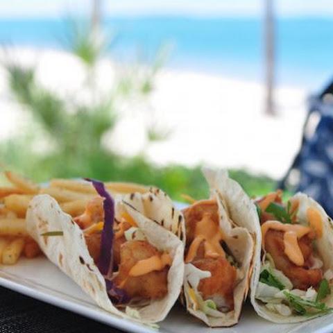 Chipotle cream sauce fish tacos recipes yummly for Sour cream sauce for fish tacos