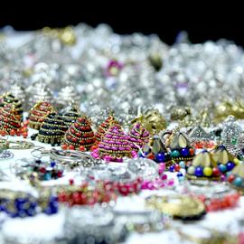 Street Jewelry by Pradeep Krishnan - Artistic Objects Jewelry ( jewelry, colorful jewelry, ornament, earings, ornaments )