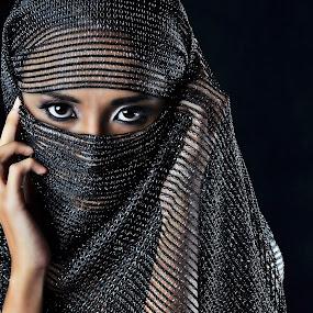 Hidden beauty by Hussin Mohd Nor - People Portraits of Women ( women, hidden beauty )