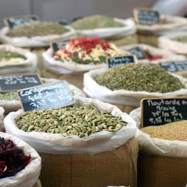 Herbs in provence by Linda Mason Calla - Food & Drink Ingredients ( provence, paris, herbs, food, garden )