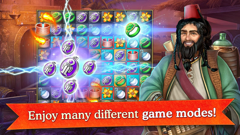 Cradle of Empires Match-3 Game Screenshot 1