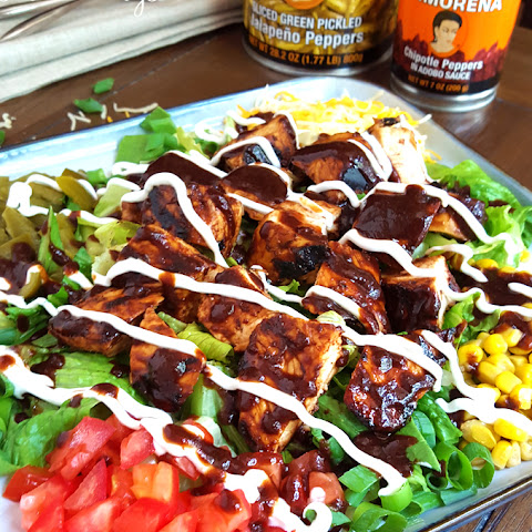 Chipotle BBQ Chicken Salad