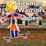 Stickman Warriors Super Platforme