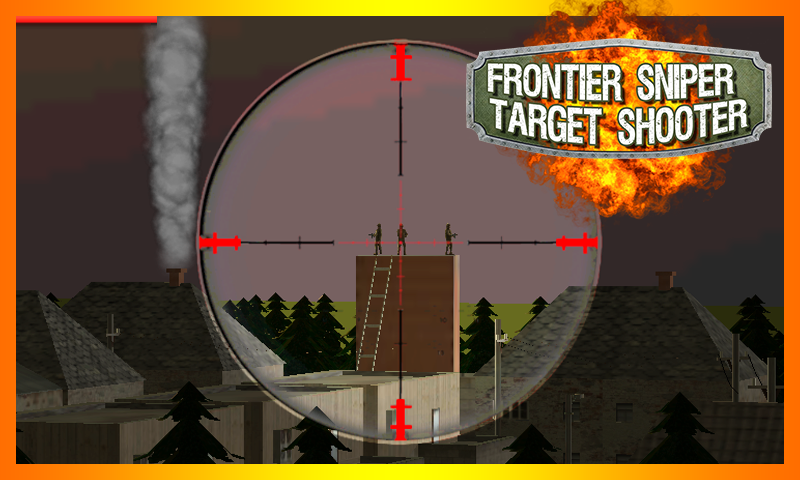android Frontier Sniper Target Shooter Screenshot 3
