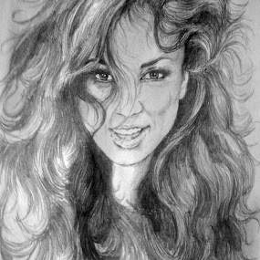 natalia by David Van der Smissen - Drawing All Drawing