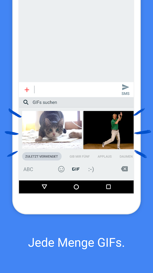 Gboard – die Google-Tastatur – Screenshot
