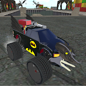 Game Batmobile Flight Drift version 2015 APK