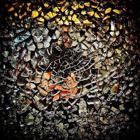 Shattered Mirror by Geary LeBell - Instagram & Mobile iPhone ( broken, mirror, broken mirror, reflection, art, 7 years back luck, broke, shattered mirror, bad luck )
