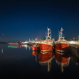 by Ian McGuirk - Transportation Boats