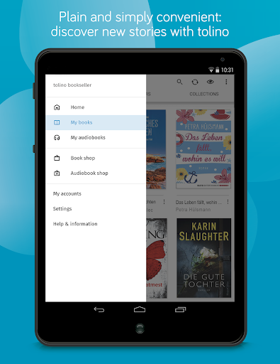 tolino e-book reading app - books reader screenshot 17