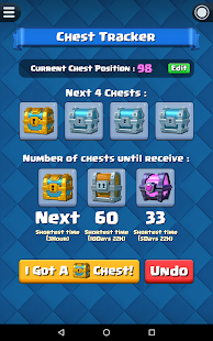 App Chest Tracker for Clash Royale apk for kindle fire