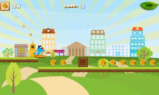 Moggy Skater World Run - screenshot