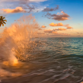 Splash by Richard ten Brinke - Landscapes Waterscapes