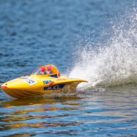 Speed Super by Raphael RaCcoon - Artistic Objects Toys ( toy, speed, lake, boat, race )