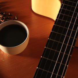 kopi n gitar by Agus Blond - Food & Drink Alcohol & Drinks