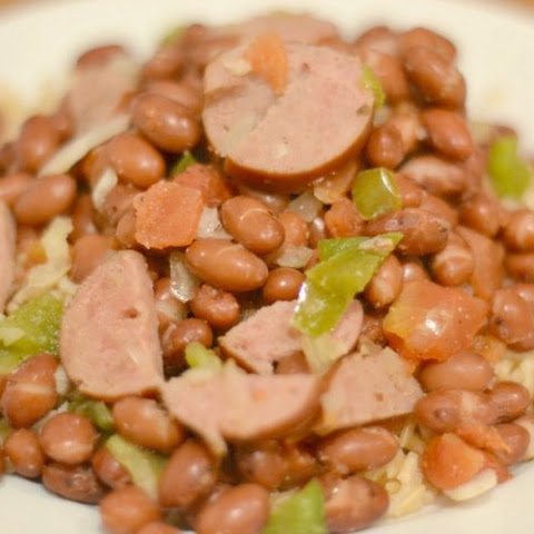 Skinny Slow Cooker Red Beans and Rice - Eat Healthy 2016