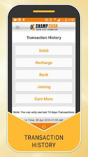 Champcash Money Free Screenshot