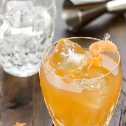 Maple Old Fashioned Cocktail
