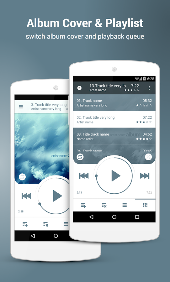 NRG Player music player Screenshot 5