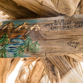 Sweet sayings at the Bear by Donna Sparks - Uncategorized All Uncategorized ( sleeping bear dunes, shelter, northern michigan )