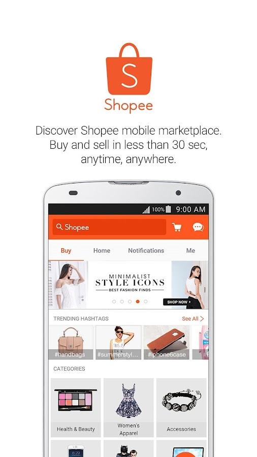 Shopee: Buy and Sell on Mobile Screenshot 0