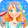 Snow Hair Salon Games