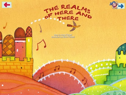 The realms of Here and There - screenshot