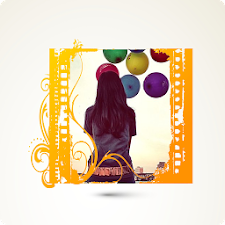 Yellow hoper Photo Frame