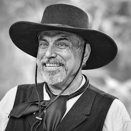 by Judy Rosanno - Black & White Portraits & People ( august 2017, alamo, historic re-enactment )