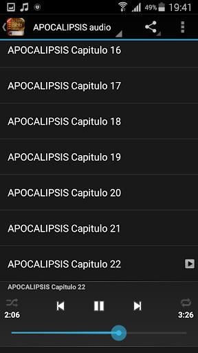 Spanish Bible Audio screenshot 6