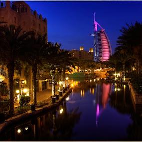 Burj Al Arab, Dubai by Andrew Madali - City,  Street & Park  Street Scenes