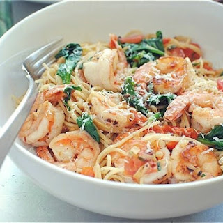 Shrimp Spinach Pasta Healthy Recipes