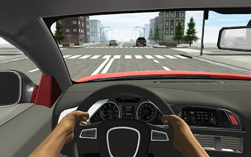 Racing in Car Screenshot