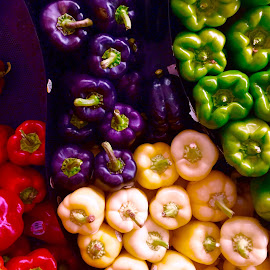 Peppers All! by Lope Piamonte Jr - Food & Drink Fruits & Vegetables