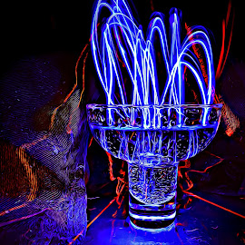 by DE Grabenstein - Abstract Light Painting