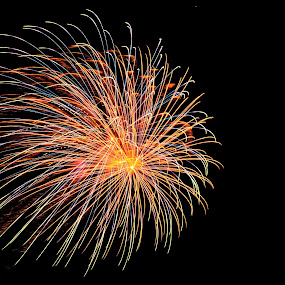Fireworks by Satheesh Ramaswamy - Abstract Fire & Fireworks