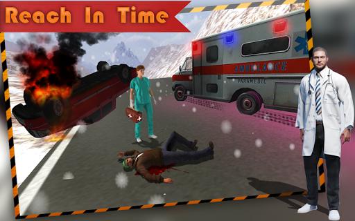 Ambulance Simulator:Rescue 3D - screenshot