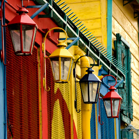 La Boca by Jime Fernandez - Travel Locations Landmarks ( la boca buenos aires argentina color )