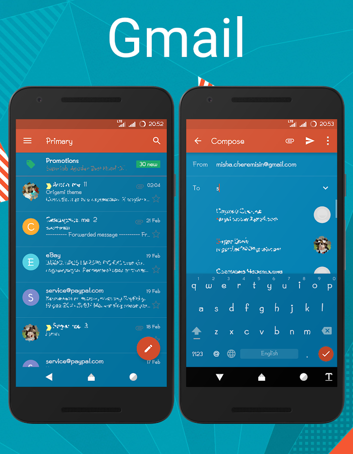 Origami cm12.1 cm13 theme Screenshot 10