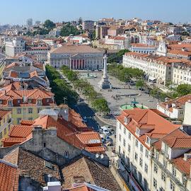 Lisbon, Portugal by Marcin Frąckiewicz - City,  Street & Park  Historic Districts ( sky, lisbon, lisboa, portugal, houses )
